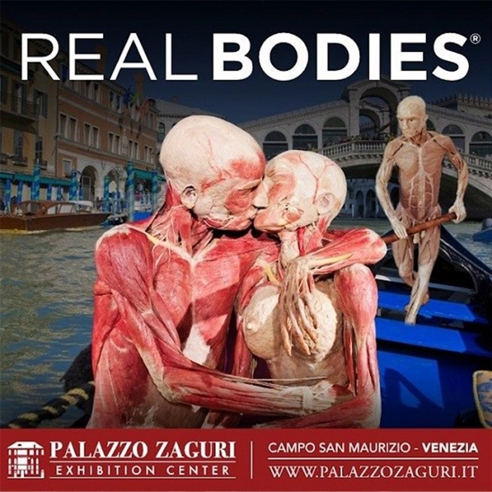 28.09.19 - 03.05.20 :Mostra Real bodies Human art exhibition