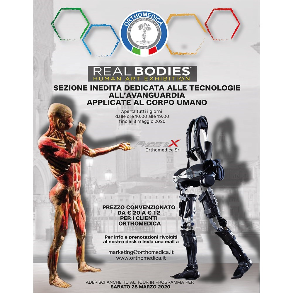 Mostra real bodies human art exhibition